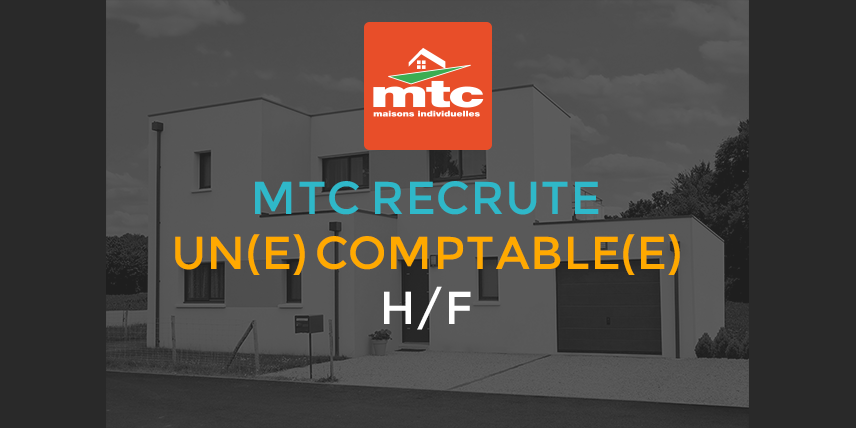 mtc recrute comptable h f pour angers. Black Bedroom Furniture Sets. Home Design Ideas